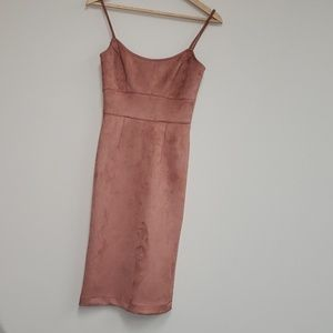 BCBG MaxAzria Peach Midi Dress XXS